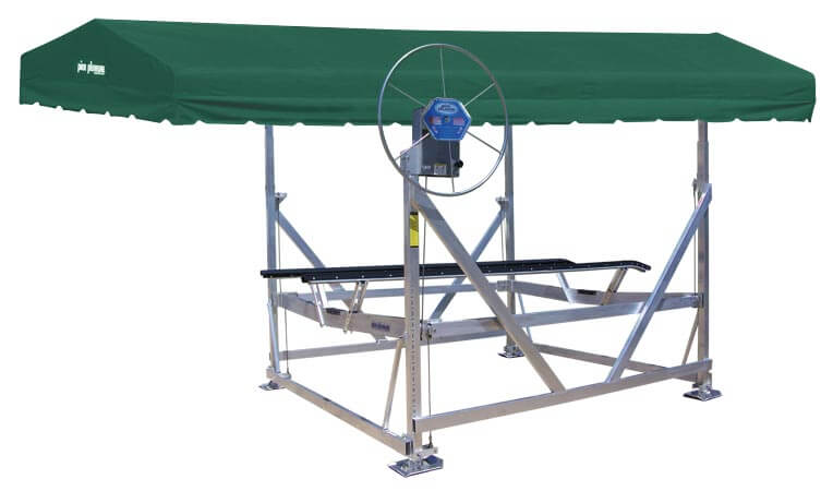 Model AL40114V-BB Vertical Boat Lift