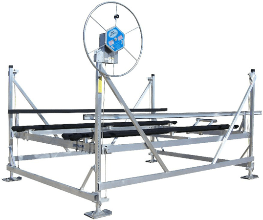Model AL40120VP Vertical Pontoon Lift