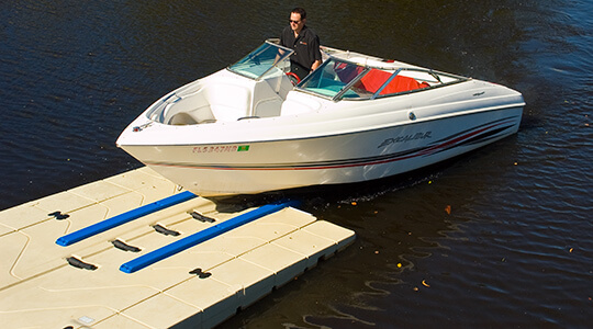 EZ BoatPort BP3000 With Side Extensions