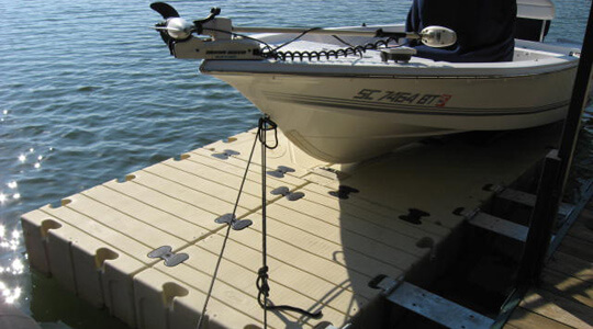 EZ BoatPort BP4000 With Float Tank & Air-Assist