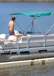 EZ Pontoon Lift PL2000