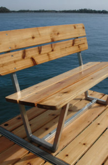 Pier Pleasure Cedar Bench
