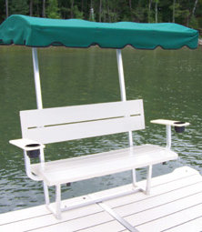 Bench Canopy and Armrest