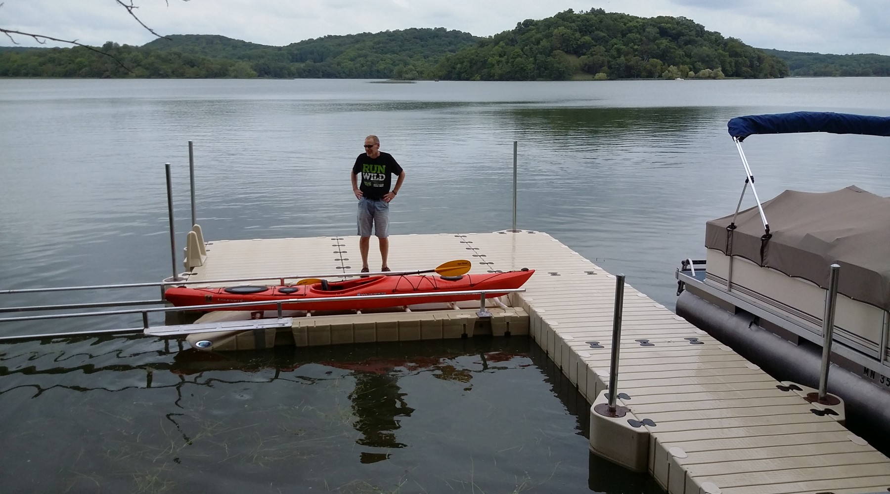 EZ Dock- Kayak Launch