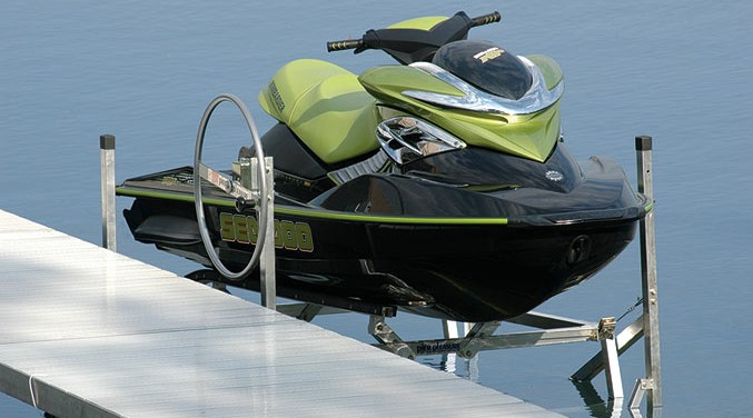 Jet Ski Lifts in Detroit Lakes, MN Area - At Ease Dock & Lift