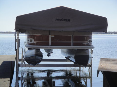 Pontoon Aluminum Lift