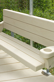 EZ Dock Polyethylene Bench Kit