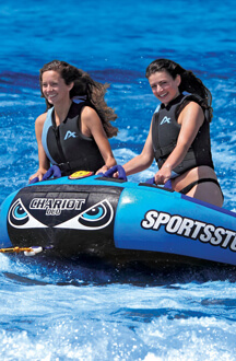 SportsStuff Chariot Duo Tube & Lounger