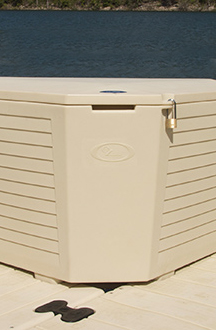 EZ Dock Corner Storage Box