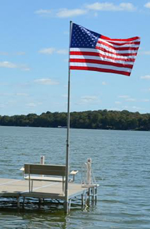 Telescoping Flag Pole