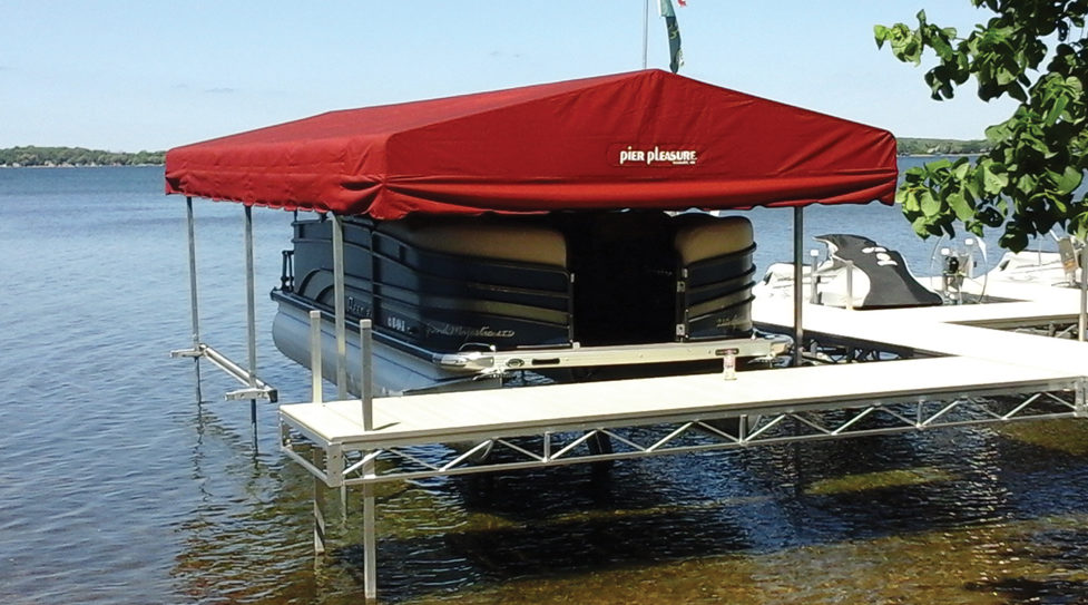 Stand Alone Canopies & Boat Lift Canopies - Stand Alone Canopies - At Ease Dock u0026 Lift