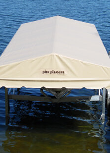 Pier Pleasure Vinyl Canopy