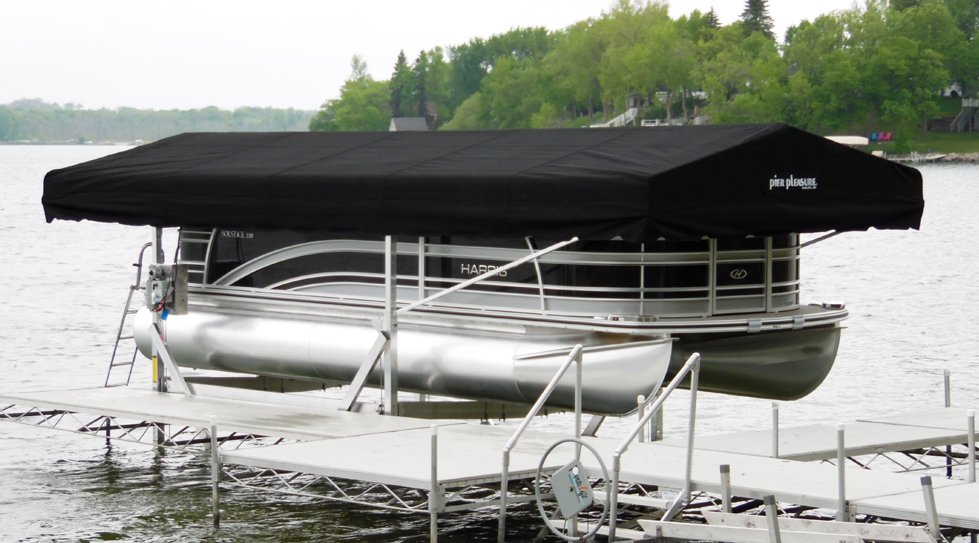 Pontoon Boat Lifts In The Detroit Lakes Mn Area At Ease