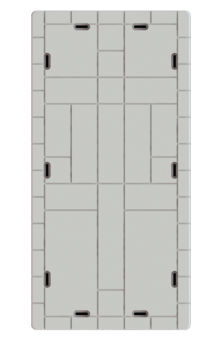 Wave Armor 30x60x16 dock section