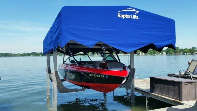 Model NZD-7500 Raptor Lift Boat Lift