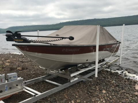 Model 4200 Roll N Go Boat Ramp System